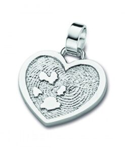 Together - Double print pendants - Paw Print