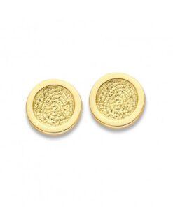 Bliss 1 - Fingerprint Earrings