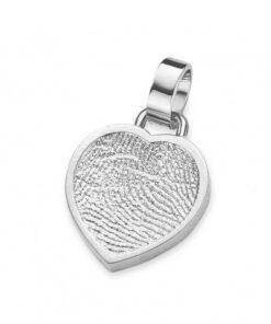 Bliss heart - Fingerprint Pendants