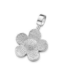 Bliss flower - Fingerprint Pendants