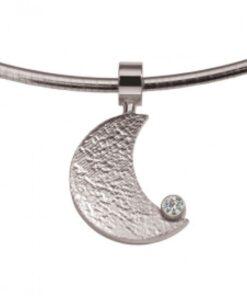 Moon - Pendants - Paw Print