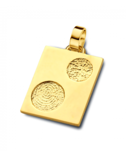 We Double fingerprint jewellery - Pendants