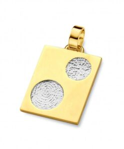 We - Double fingerprint jewellery - Pendants