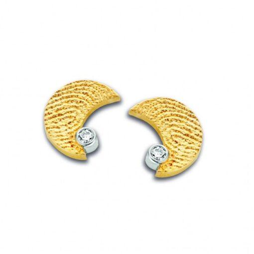 Moon Fingerprint Earrings