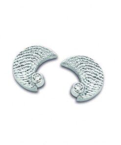 Moon - Fingerprint Earrings