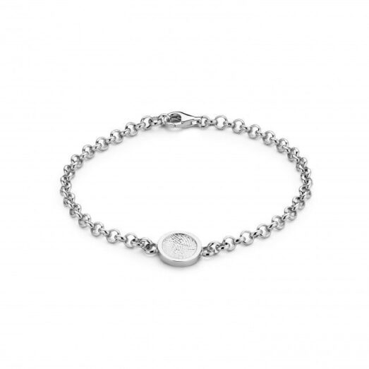 Bliss Round Bracelet Silver -