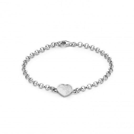 Bliss Heart Bracelet Silver Bracelets