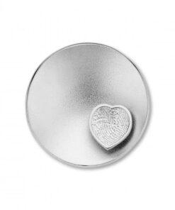 Sphere Heart Silver -