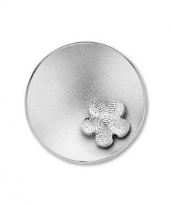 Sphere Flower Silver -
