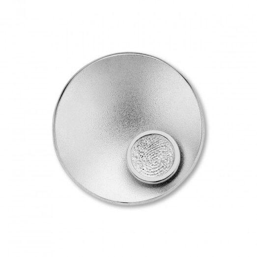 Sphere Round Silver -