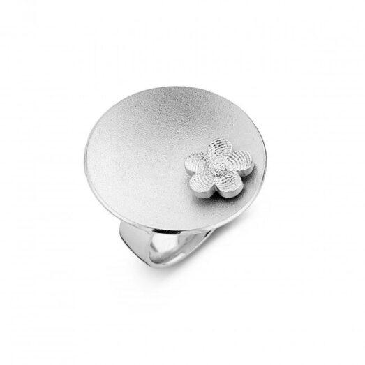 Sphere 6 Flower Silver 30mm -