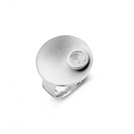 Sphere 2 Round Silver 30mm -