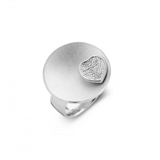 Sphere 3 Heart Silver 25mm -