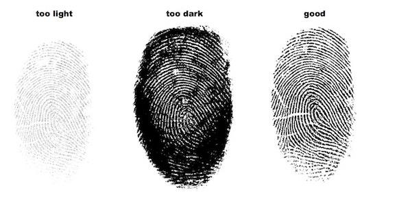 How to make a good fingerprint