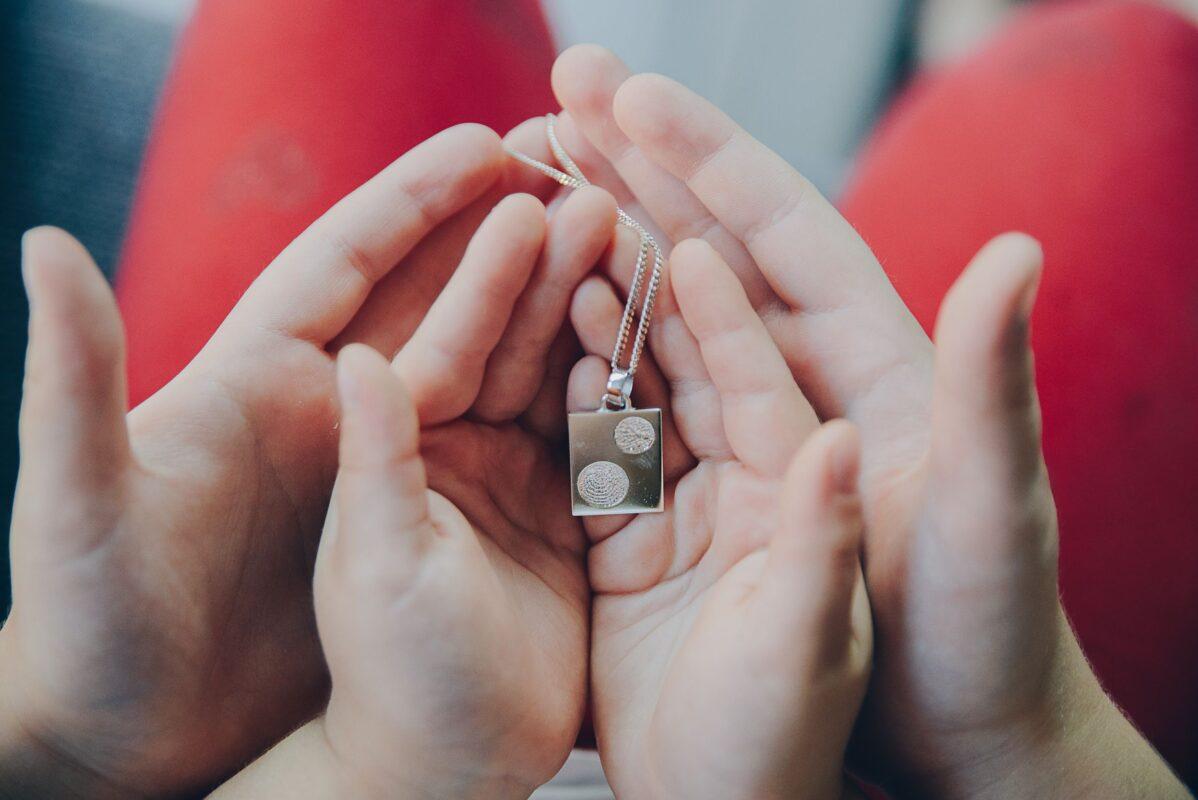 Fingerprint Memorial Jewellery - remembering past, celebrating future